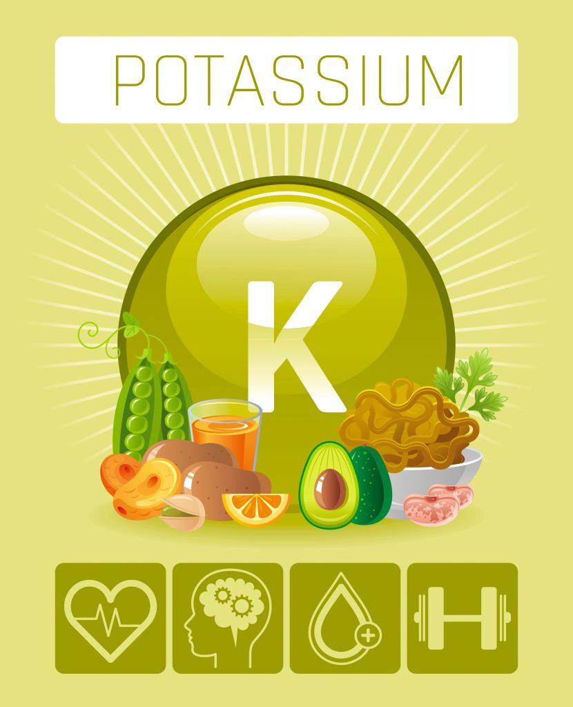Hamileler için gerekli olan potasyum vitaminler ve mineraller