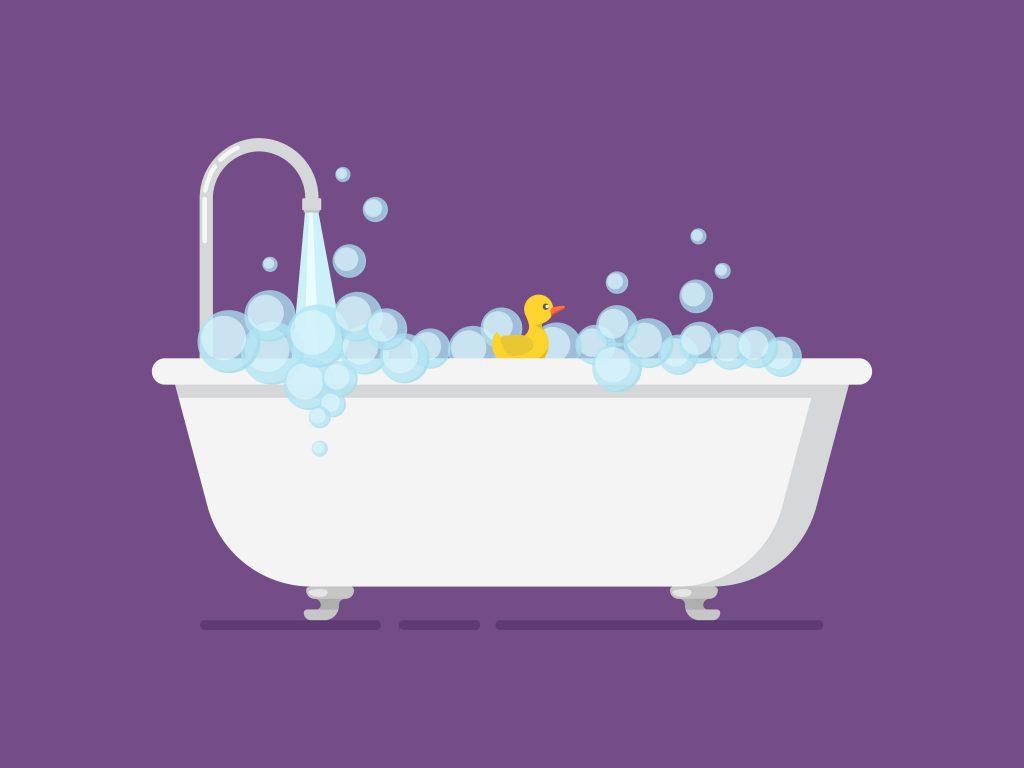 yenidoğan bebek banyo suyu sıcaklığı