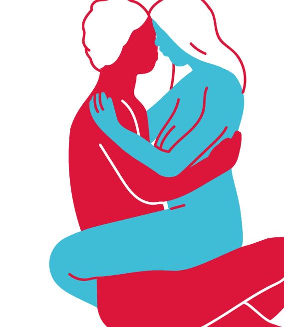 Korbposition, um schwanger zu werden