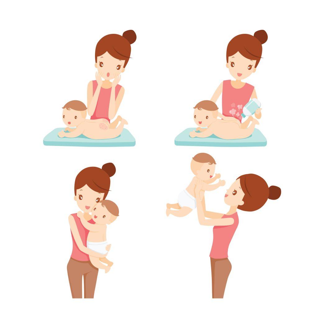 bebeklerde pişik yöntemleri