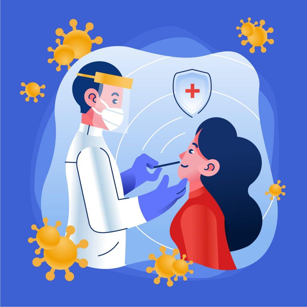 gebelikte koronavirüs testi